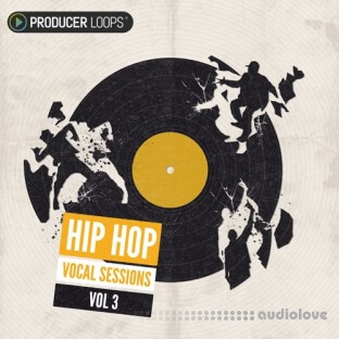 Producer Loops Hip Hop Vocal Sessions Vol.3