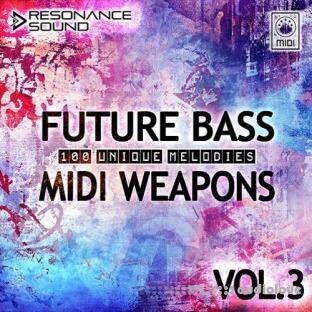 Resonance Sound Future Bass Midi Weapons Volume 3