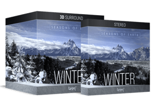 Boom Library Seasons Of Earth Winter 3D Surround and Stereo Editions