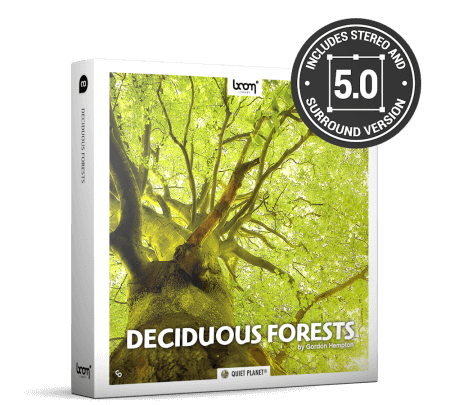 Boom Library Deciduous Forests STEREO and SURROUND