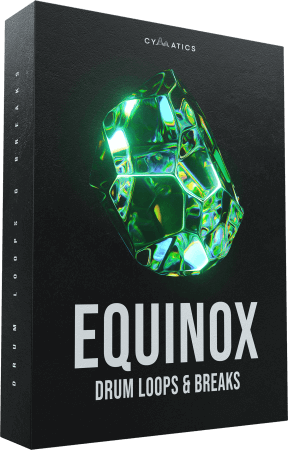 Cymatics Equinox Drum Loops and Breaks