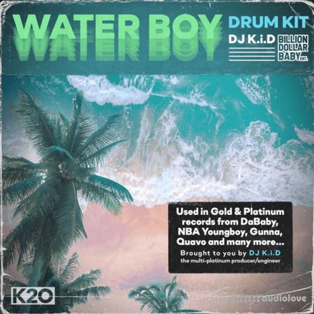 Dj K.i.D Waterboy Drum kit WAV