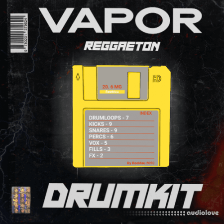 ReeMau Beats VAPOR Reggaeton Drum Kit