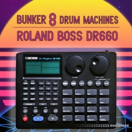 Bunker 8 Digital Labs Bunker 8 Drum Machines Boss DR660