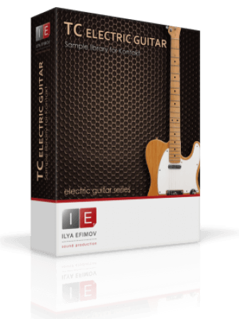 Ilya Efimov TC Electric Guitar KONTAKT