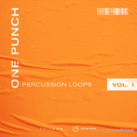 shanks. x Ty Leon One Punch Percussion Loops Vol.1