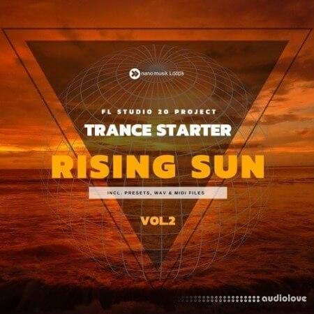 Nano Musik Loops Trance Starter Rising Sun Vol.2