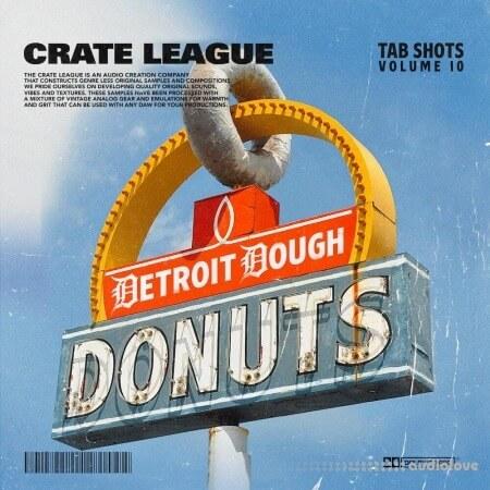 The Crate League Tab Shots Vol.10 Detroit Dough Drumkit
