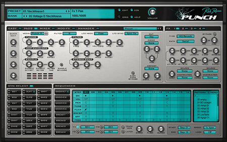 Rob Papen Punch v1.0.6a / v1.0.6c WiN MacOSX