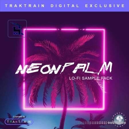 TrakTrain Neon Palm Lo-Fi Sample Pack