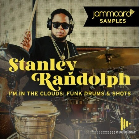Jammcard Samples Stanley Randolph I'm In The Clouds Funky Drums and Shots