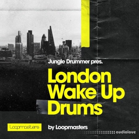 Loopmasters Jungle Drummer London Wake Up Drums