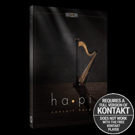 Sonuscore ha•pi Concert Harp
