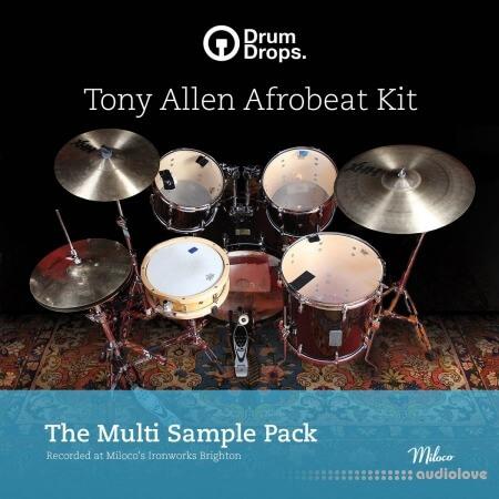 DrumDrops Tony Allen Afrobeat Kit: Multi Sample Pack
