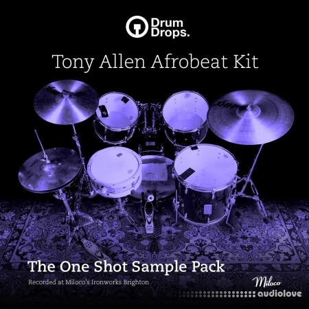 DrumDrops Tony Allen Afrobeat Kit: One Shot Pack