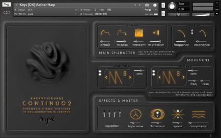Karanyi Sounds Continuo 2 PRO Anr1 Modz version