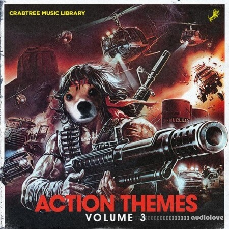 Crabtree Music Library Action Themes Vol.3 (Compositions and Stems)