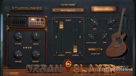 StudioLinkedVST Urban Slayer Acoustic