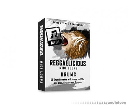 Tropical Samples ReggaeLicious Drums MIDI MiDi