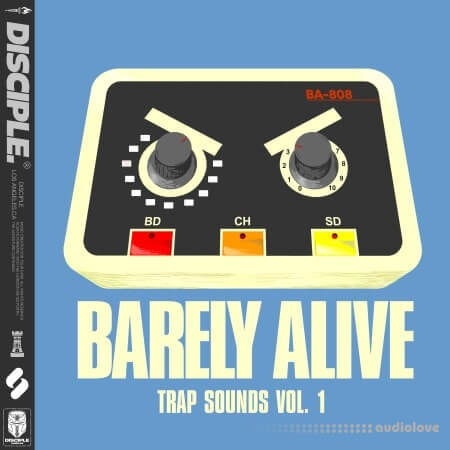 Disciple Samples Barely Alive Trap Sounds Vol.1