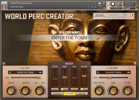In Session Audio World Percussion Creator KONTAKT