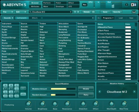 Native Instruments Absynth 5 v5.3.4 CE / v5.3.1 WiN MacOSX