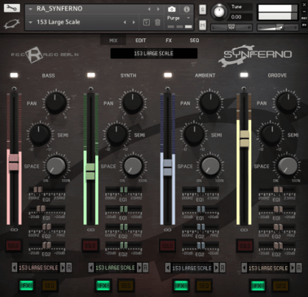 Rigid Audio Synferno v1.1 KONTAKT