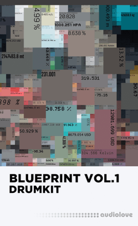 iBEENART The Blueprint Vol.1 (DRUMKIT) WAV MiDi