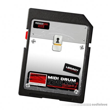 Producergrind MIDI Drum Tool Kit Vol.2 MiDi