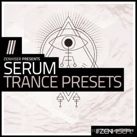 Zenhiser Serum Trance Presets WAV MiDi Synth Presets