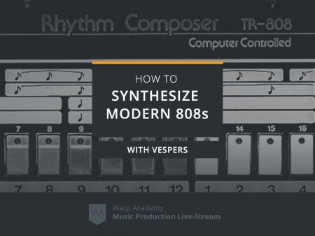Warp Academy How To Synthesize Modern 808s TUTORiAL
