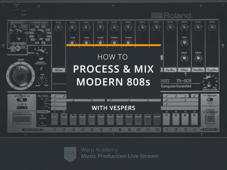 Warp Academy How To Process and Mix Modern 808s TUTORiAL