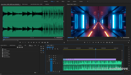 SkillShare Adobe Premiere Pro Audio Editing Learn how to edit audio in Adobe Premiere Pro