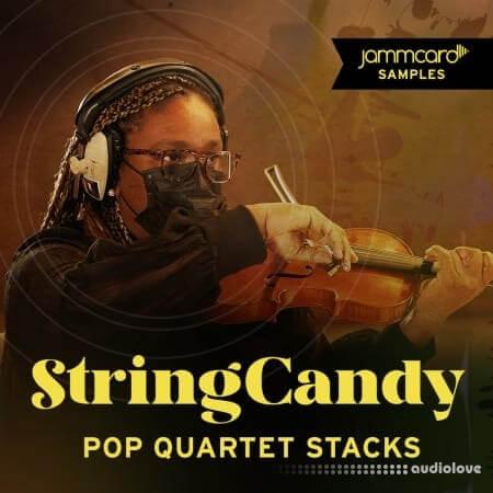 Jammcard Samples StringCandy Pop Quartet Stacks