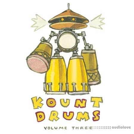 The Kount Kount Drums Vol.3