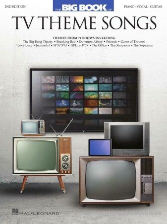 Big Book of TV Theme Songs - 2nd Edition. Piano, Vocal and Guitar