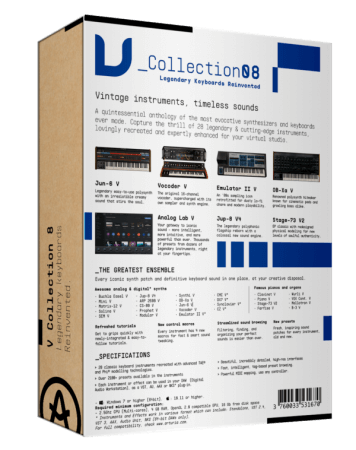 Arturia V Collection and FX 8 Jan-Apr 2021 WiN