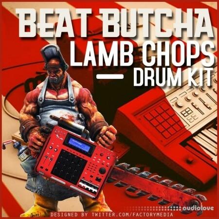 Beat Butcha Lamb Chop Drum Kit