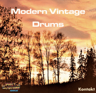 Past To Future Samples Modern Vintage Drums!