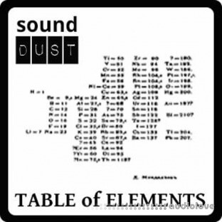 Sound Dust Table Of Elements