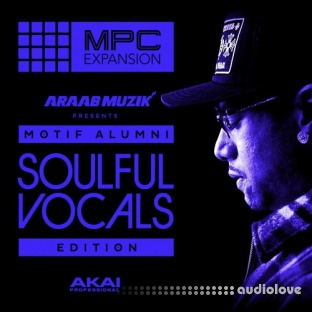 AKAi MPC Expansion Araab Muzik Soulful Vocals Edition