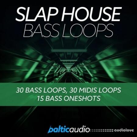Baltic Audio Slap House Bass Loops