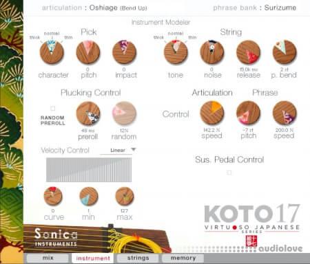 Sonica Instruments KOTO 17
