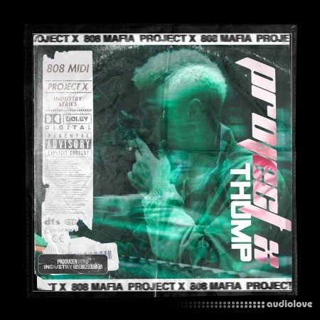 Producergrind Project X Thump 808 Loops & MIDIs