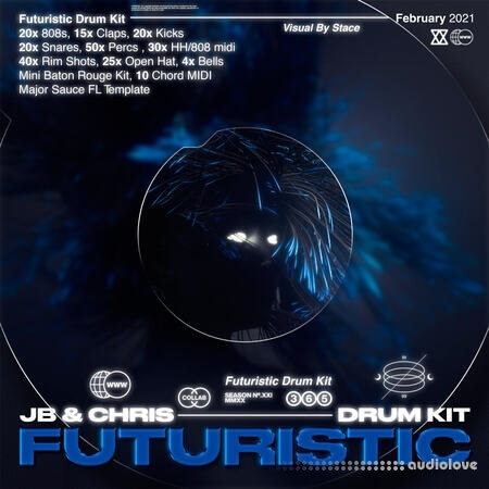 JBSaucedUp Futuristic Drum Kit