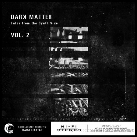 SonalSystem Dark Matter Tales From The Synth Side Vol.2