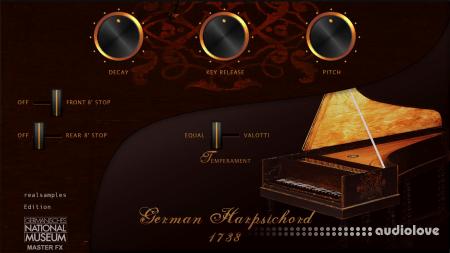 realsamples German Harpsichord 1738