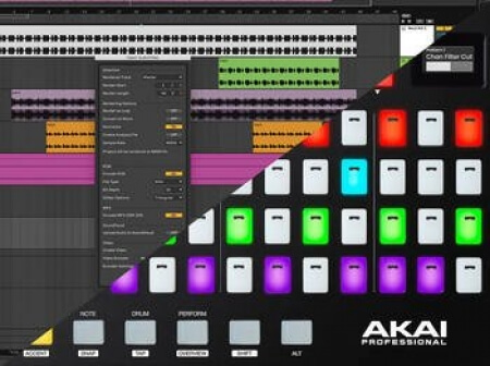 Isotonik Studios nativeKONTROL CrossFire Akai Fire Ableton Control Surface Script