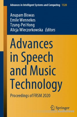 Advances in Speech and Music Technology: Proceedings of FRSM 2020