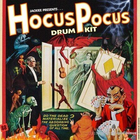 prodbyjackiee Hocus Pocus (Drum Kit) WAV MiDi